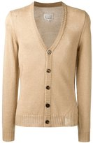 Maison Margiela V-neck cardigan - men - Cotton/Mohair - L