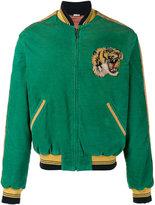 Gucci corduroy bomber jacket - men - Silk/Cotton/Polyester/Viscose - 46