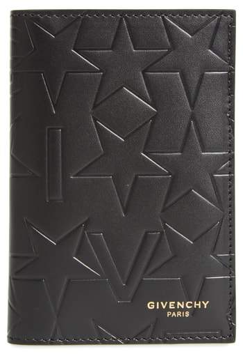 Givenchy Tall Leather Billfold Wallet