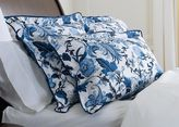 Ethan Allen Blue and White Floral King Sham