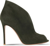 Gianvito Rossi Lombardy suede ankle boots