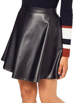 Miss Selfridge Faux Leather Skater Skirt