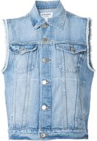 Frame 'Le Original' denim vest - women - Cotton - S