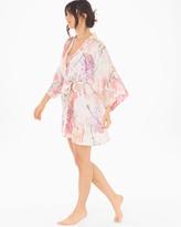 Soma Intimates Classics Silk Short Kimono Robe Love Story