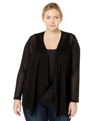 Volcom Junior's Women's Lived in Go Wrap Plus Size Sweater