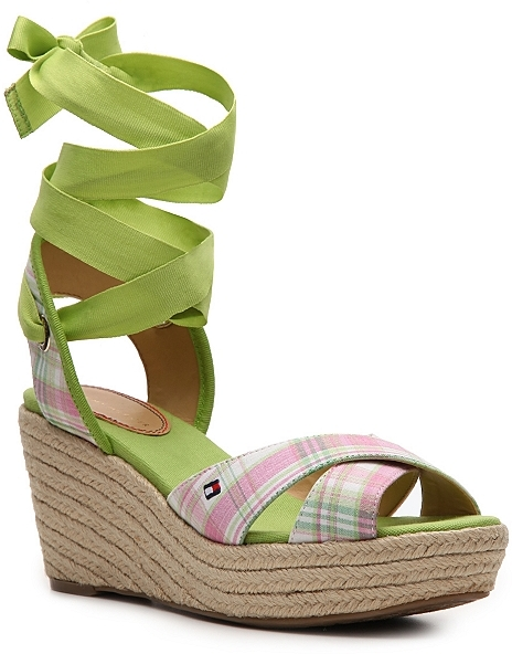 Tommy Hilfiger Palm Wedge Sandal