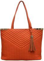 Sondra Roberts Faux Leather Handbag