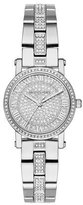 Michael Kors Petite Norie Stainless Steel Bracelet Watch with Crystals