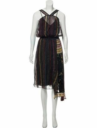 No.21 No. 21 Silk Maxi Dress Black No. 21 Silk Maxi Dress