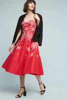 Tracy Reese Corded Rouge Dress