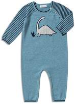 Angel Dear Boys' Striped Dino Coverall - Baby
