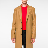 Paul Smith Men's Camel Wool-Cashmere Overcoat