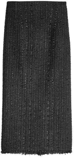 Alexander McQueen Pencil Skirt with Wool and Cotton