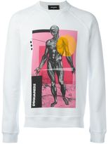 DSQUARED2 'Sexy Muscle Fit' sweatshirt