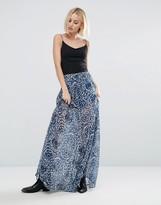 Pepe Jeans Morina Printed Maxi Skirt