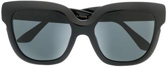 Emmanuelle Khanh Oversized Square Frame Sunglasses