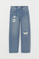 H&M Tapered Ankle Jeans - Blue