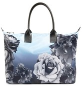 Ted Baker 'Mono Rose' Floral Tote - Blue
