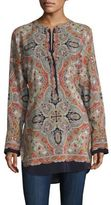 Theory Maraseille Premont Silk Tunic