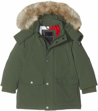 Tommy Hilfiger Boy's Tech Parka Coat