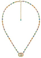 Gucci Women's Double-G Multistone Pendant Necklace
