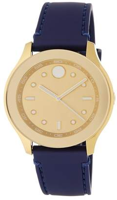 Movado Women's Bold Silicone Watch, 38mm