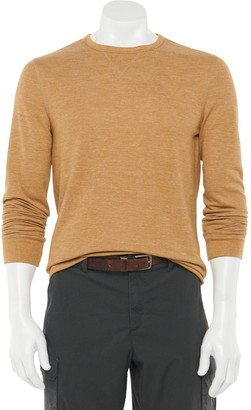 Sonoma Goods For Life Men's Double-Knit Crewneck Top
