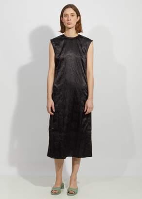 Acne Studios Darienne Floral Embossed Satin Dress