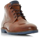 Bertie Tan 'chordd' Corduroy Collar Lace Up Boot