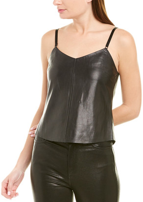 Veda Leather Cami