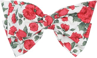 Miu Miu Flower Print Hair Bow
