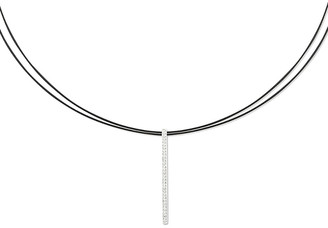 Alor Noir 18K 0.16 Ct. Tw. Diamond Necklace