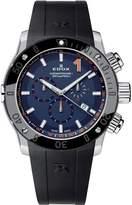 Edox Men's 10221 3N BUINO Chronoffshore-1 Analog Display Swiss Quartz Black Watch