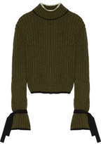 J.W.Anderson Ribbed Alpaca-Blend Turtleneck Sweater