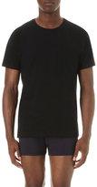 Comme Des Garcons Shirt Crewneck Cotton-jersey T-shirt