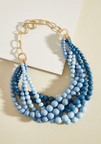 ModCloth Burst Your Bauble Necklace in Sky