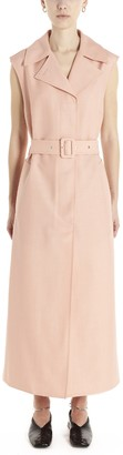 Jil Sander Sleeveless Trench Coat