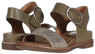 Sofft Bali (Black/Anthracite Toscana/Cow Metallic) Women's Sandals