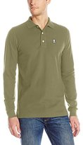 Psycho Bunny Men's Classic Long Sleeve Polo Shirt