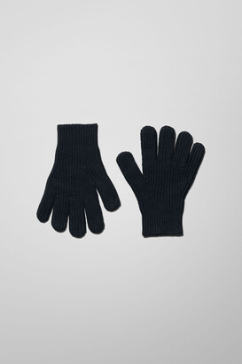 Weekday Camino Gloves - Black