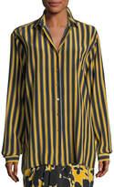 Michael Kors Pajama Stripe Shirt