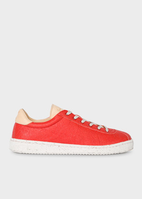 Paul Smith Women's Orange 'Dusty' Pinatex Sneakers