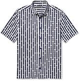 Issey Miyake Men - Printed Cotton-voile Shirt