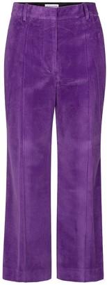Victoria Beckham High-rise corduroy wide-leg pants