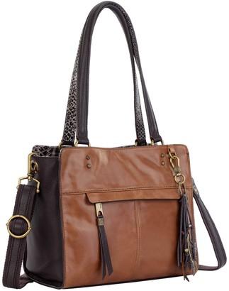 The Sak Alameda III Leather Satchel Handbag