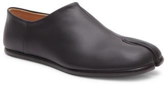 Maison Margiela Tabi Babouche Leather Slip-On Shoes
