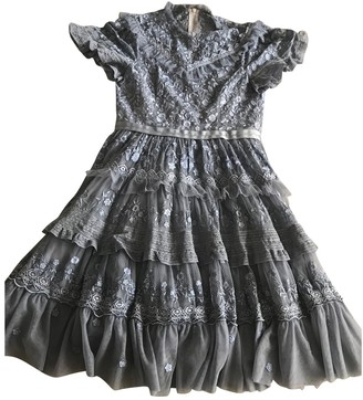 Needle & Thread Purple Lace Dress for Women