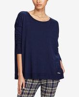 Polo Ralph Lauren Side-Slit Crew Neck Sweater