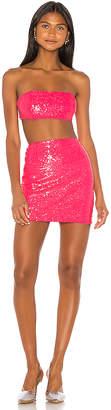 superdown Stacy Strapless Skirt Set