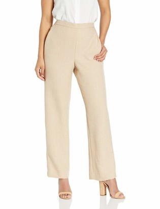 Alfred Dunner Women's Proportioned Medium Solid Pant